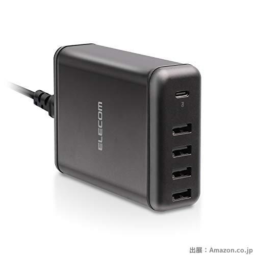 エレコム USB コンセント PD 充電器