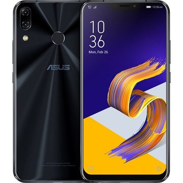 banggood ASUS ZenFone 5Z Snapdragon 845 SDM845 2.8GHz 8コア BLACK(ブラック)