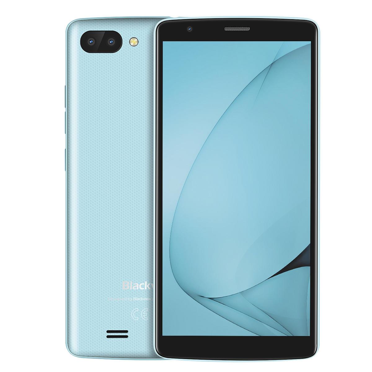 banggood Blackview A20 3G MTK6580 1.3GHz 4コア BLUE(ブルー)