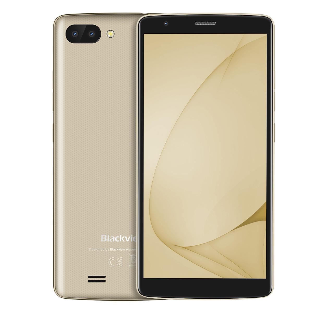 banggood Blackview A20 3G MTK6580 1.3GHz 4コア GOLD(ゴールド)