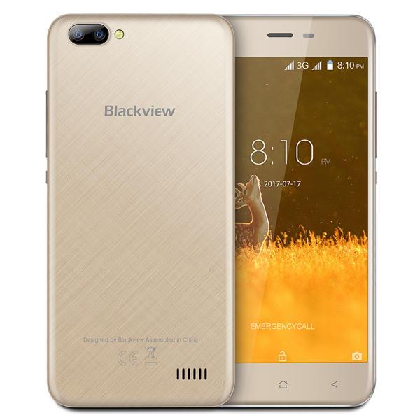 banggood Blackview A7 3G MTK6580A 1.3GHz 4コア GOLD(ゴールド)