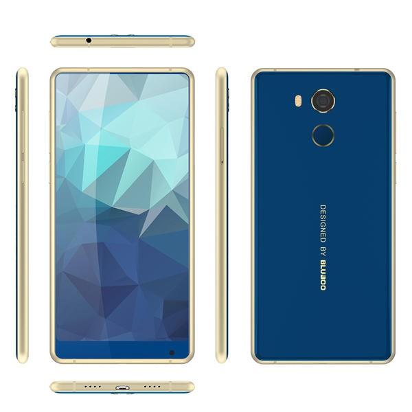 Bluboo D5 Pro MTK6737 1.3GHz 4コア BLUE(ブルー)