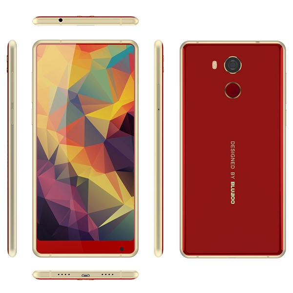 banggood Bluboo D5 Pro MTK6737 1.3GHz 4コア RED(レッド)
