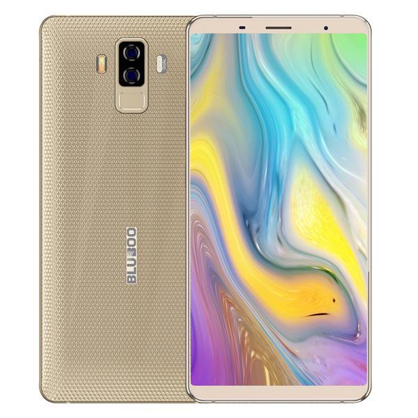 Bluboo S3 MTK6750T 1.5GHz 8コア GOLD(ゴールド)