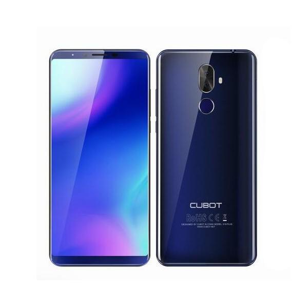 banggood CUBOT X18 Plus MTK6750T 1.5GHz 8コア BLUE(ブルー)