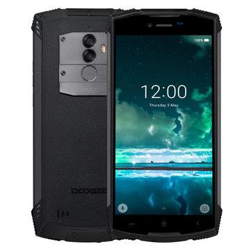 banggood DOOGEE S55 MTK6750T 1.5GHz 8コア BLACK(ブラック)