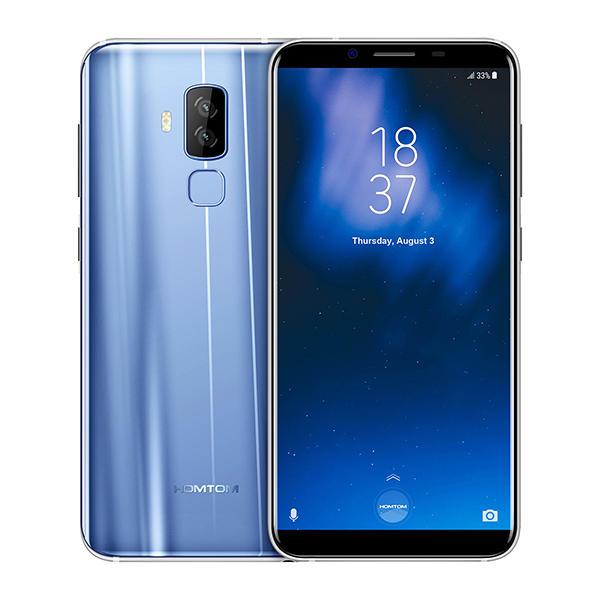 HOMTOM S8 MTK6750T 1.5GHz 8コア BLUE(ブルー)