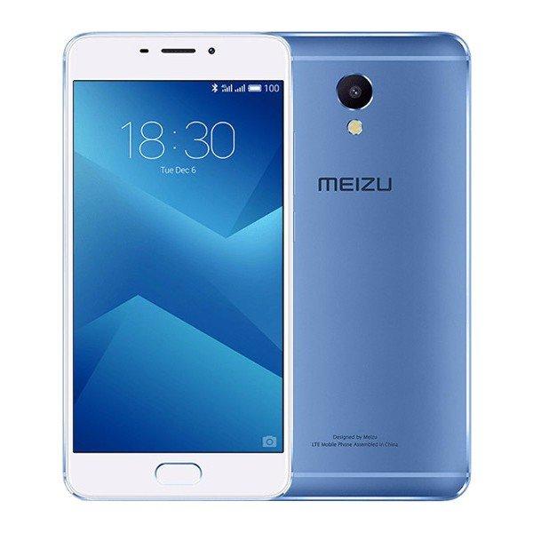 banggood MEIZU M5 NOTE MTK6755 Helio P10 2.0GHz 8コア BLUE(ブルー)