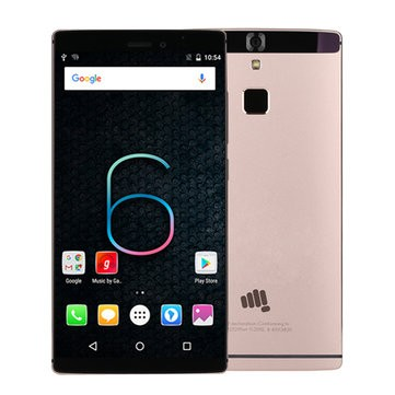 Micromax Canvas 6 MTK6753 1.3GHz 8コア GOLD(ゴールド)