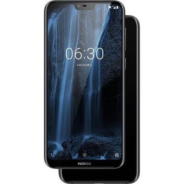banggood NOKIA X6 Snapdragon 636 SDM636 8コア BLACK(ブラック)