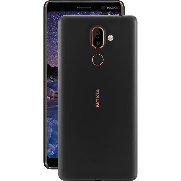 Nokia 7 Plus Snapdragon 660 MSM8956 Plus 2.2GHz 8コア BLACK(ブラック)