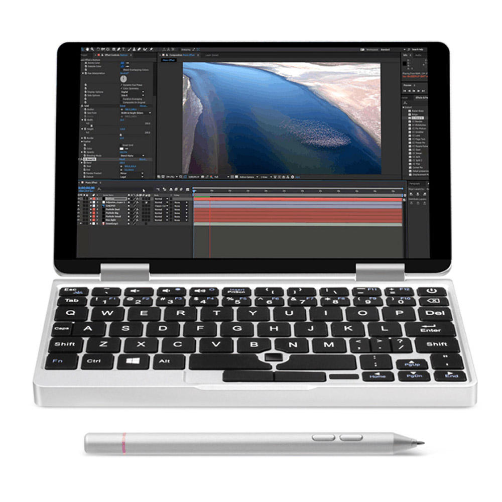 banggood ONE-NETBOOK One Mix 2 Core M3-7Y30 1GHz 2コア SILVER(シルバー)