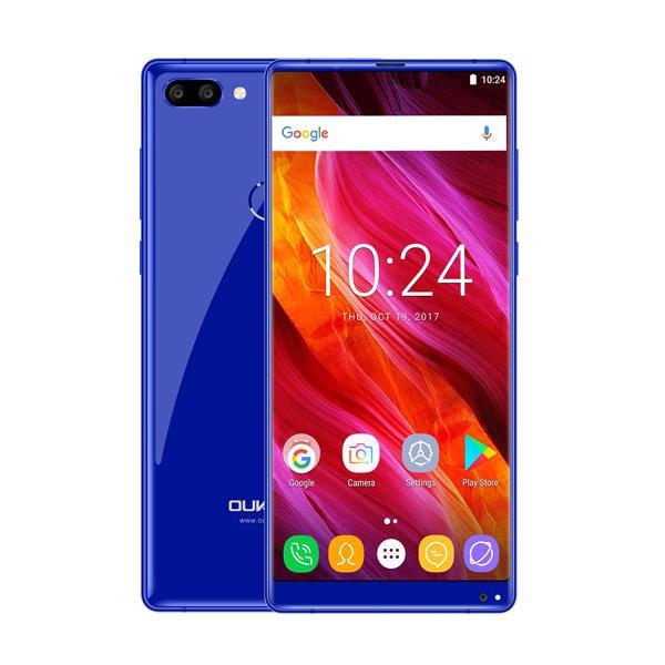 banggood Oukitel MIX 2 MTK6757V Helio P25 2.39GHz 8コア BLUE(ブルー)