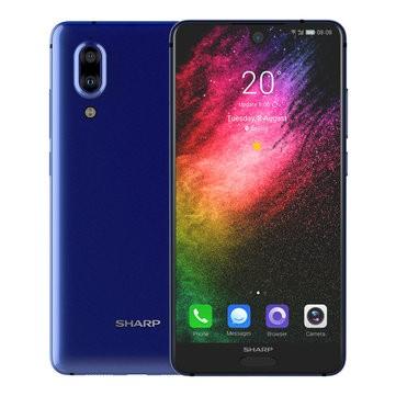 banggood SHARP S2 Snapdragon 630 SDM630 2.2GHz 8コア BLUE(ブルー)