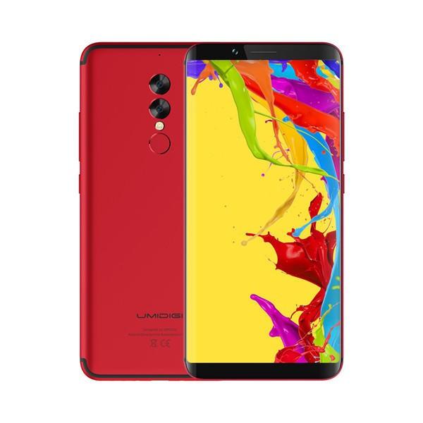 banggood UMIDIGI S2 Lite MTK6750T 1.5GHz 8コア RED(レッド)