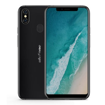 banggood Ulefone X MTK6763 Helio P23 2.0GHz 8コア BLACK(ブラック)