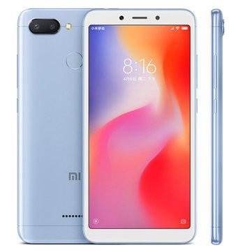 Xiaomi Redmi 6 MTK6762 Helio P20 2.0GHz 8コア BLUE(ブルー)