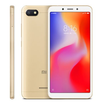 Xiaomi Redmi 6A MTK6765 Helio A22 2.0GHz 4コア GOLD(ゴールド)