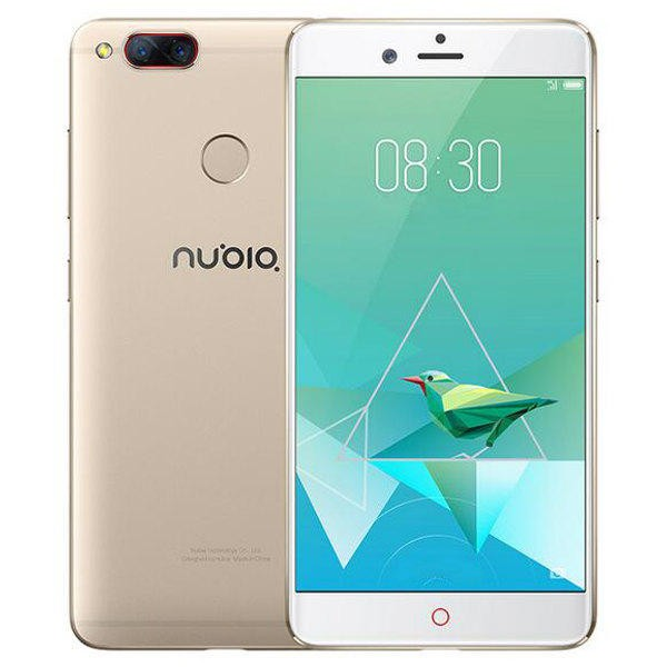 banggood ZTE Nubia Z17 Mini Snapdragon 652 MSM8976 1.8GHz 8コア CHAMPAGNE GOLD(シャンペンゴールド)