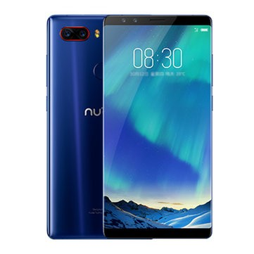 banggood ZTE Nubia Z17 S Snapdragon 835 MSM8998 2.35GHz 8コア BLUE(ブルー)