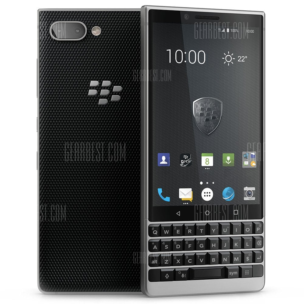 BlackBerry KEY 2 Snapdragon 660 MSM8956 Plus 2.2GHz 8コア SILVER(シルバー)