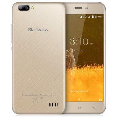 gearbest Blackview A7 3G MTK6580A 1.3GHz 4コア GOLDEN(ゴールデン)
