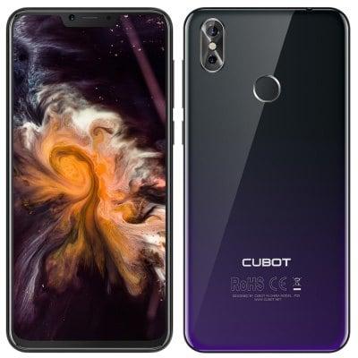 CUBOT P20 MTK6750T 1.5GHz 8コア BLACK(ブラック)
