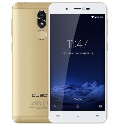 gearbest CUBOT R9 3G MTK6580 1.3GHz 4コア GOLDEN(ゴールデン)