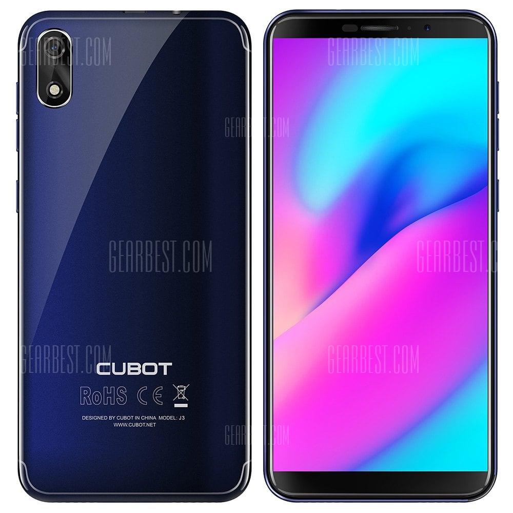 Cubot J3 3G MTK6580 1.3GHz 4コア