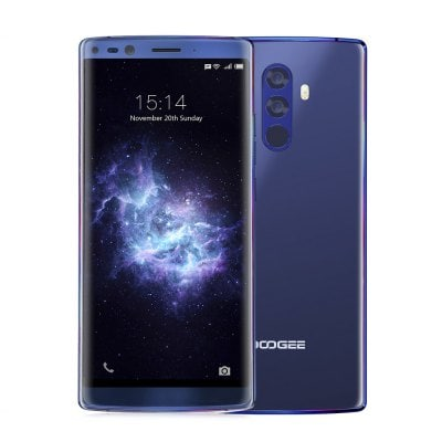 gearbest DOOGEE MIX 2 MTK6757T Helio P25 2.5GHz 8コア BLUE(ブルー)