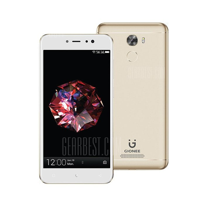 gearbest GIONEE A1 Lite MTK6753 1.3GHz 8コア GOLD(ゴールド)