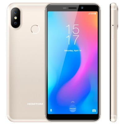 gearbest HOMTOM C2 MTK6750T 1.5GHz 8コア CHAMPAGNE(シャンペン)