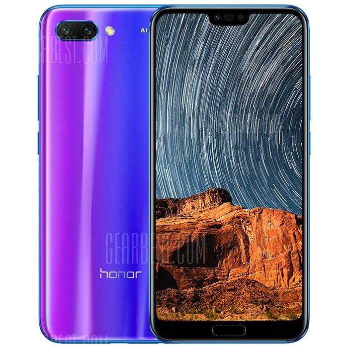 gearbest Huawei Honor 10 Kirin 970 2.4GHz 8コア BLUE(ブルー)