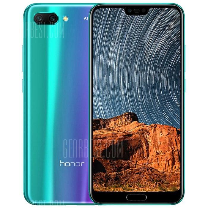gearbest Huawei Honor 10 Kirin 970 2.4GHz 8コア PURPLE(パープル)