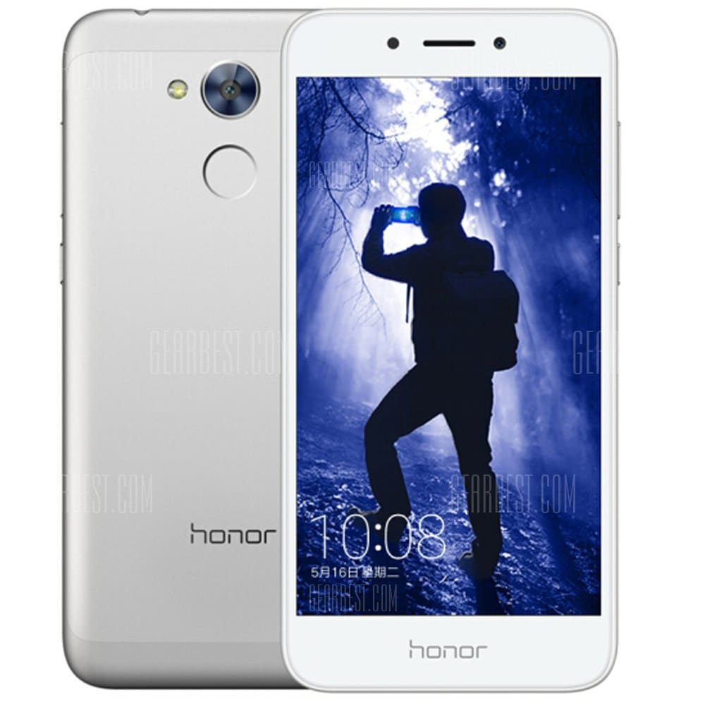 gearbest HUAWEI Honor 6A Snapdragon 430 MSM8937 1.4GHz 8コア SILVER(シルバー)