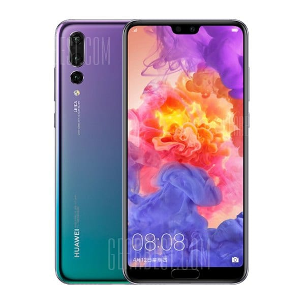 gearbest Huawei P20 Pro Kirin 970 2.4GHz 8コア Twilight(トワイライト)