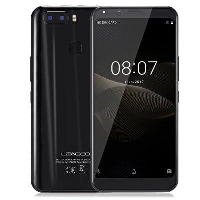 gearbest LEAGOO S8 Pro MTK6757T Helio P25 2.5GHz 8コア BLACK(ブラック)
