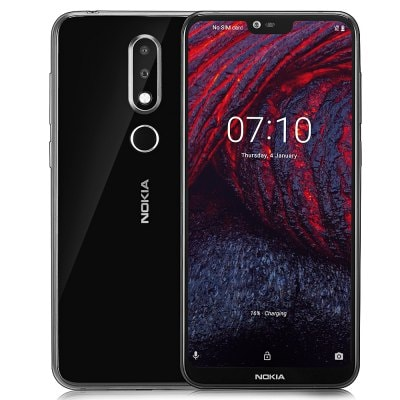gearbest NOKIA X6 Snapdragon 636 SDM636 8コア BLACK(ブラック)
