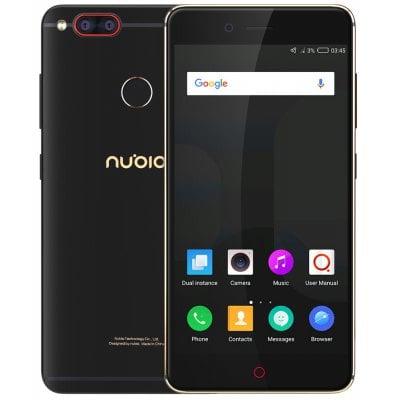 gearbest ZTE Nubia Z17 Mini Snapdragon 652 MSM8976 1.8GHz 8コア BLACK(ブラック)