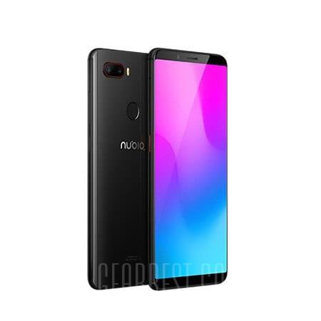 gearbest ZTE Nubia Z18 Mini Snapdragon 660 MSM8956 Plus 2.2GHz 8コア BLACK(ブラック)