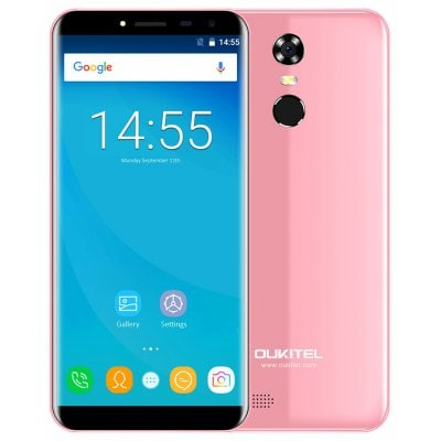 gearbest OUKITEL C8 MTK6737 1.3GHz 4コア PINK(ピンク)