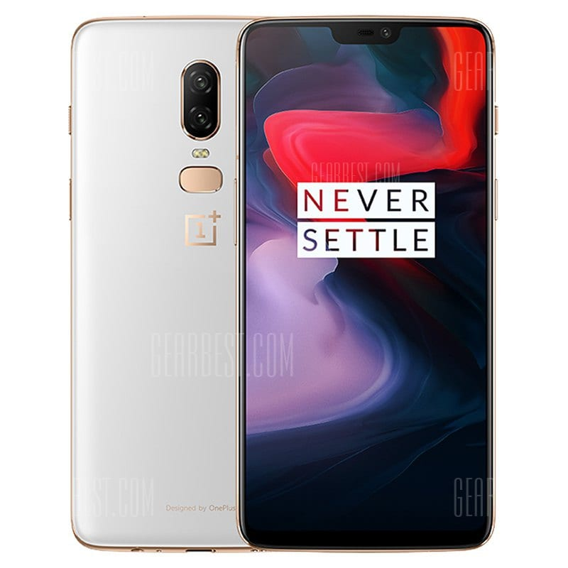 gearbest OnePlus 6 Snapdragon 845 WHITE(ホワイト)
