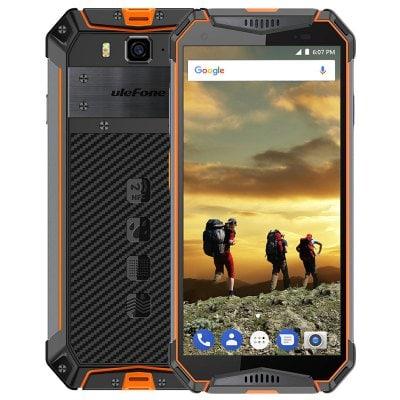 gearbest Ulefone Armor 3 MTK6763 Helio P23 2.0GHz 8コア ORANGE(オレンジ)