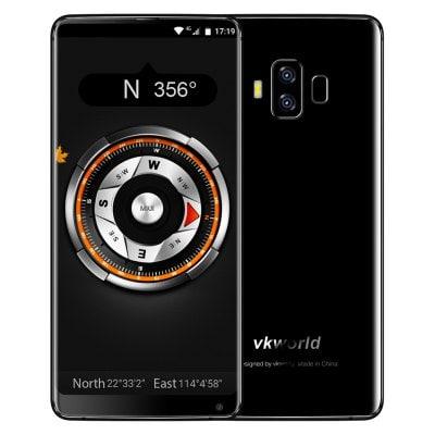 gearbest vkworld S8 MTK6750T 1.5GHz 8コア BLACK(ブラック)