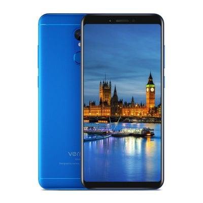 gearbest Vernee M6 MTK6750 1.5GHz 8コア BLUE(ブルー)
