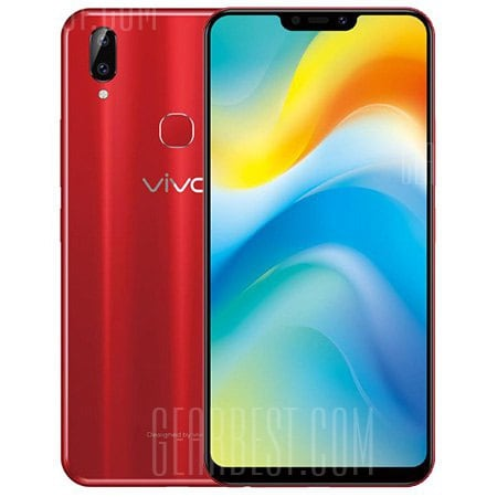 gearbest Vivo Y85 Snapdragon 450 1.8GHz 8コア RED(レッド)