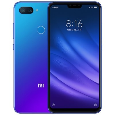 gearbest Xiaomi Mi8 Lite Snapdragon 660 MSM8956 Plus 2.2GHz 8コア BLUE(ブルー)