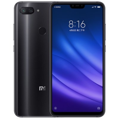 gearbest Xiaomi Mi8 Lite Snapdragon 660 MSM8956 Plus 2.2GHz 8コア BLACK(ブラック)