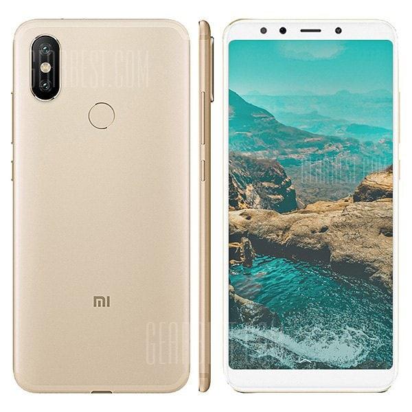 gearbest Xiaomi Mi A2 Lite Snapdragon 625 MSM8953 2.0GHz 8コア GOLD(ゴールド)