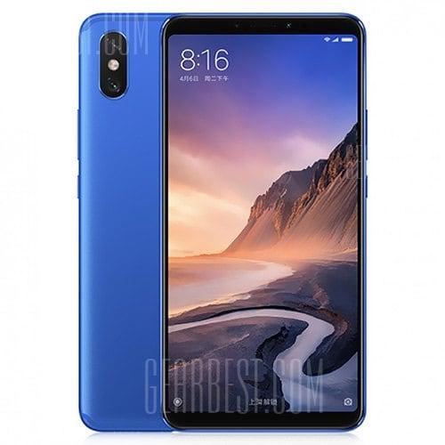 gearbest Xiaomi Mi Max 3 Snapdragon 636 SDM636 8コア BLUE(ブルー)